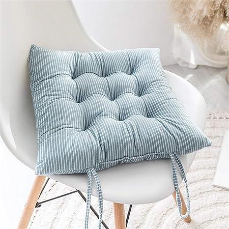 YDMR Striscia Quadrata Cuscini di Seduta Accogliente Tessuto