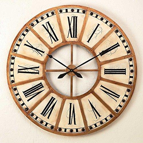 """Carla Large Wall Clock - 30.5"""" Diameter"""