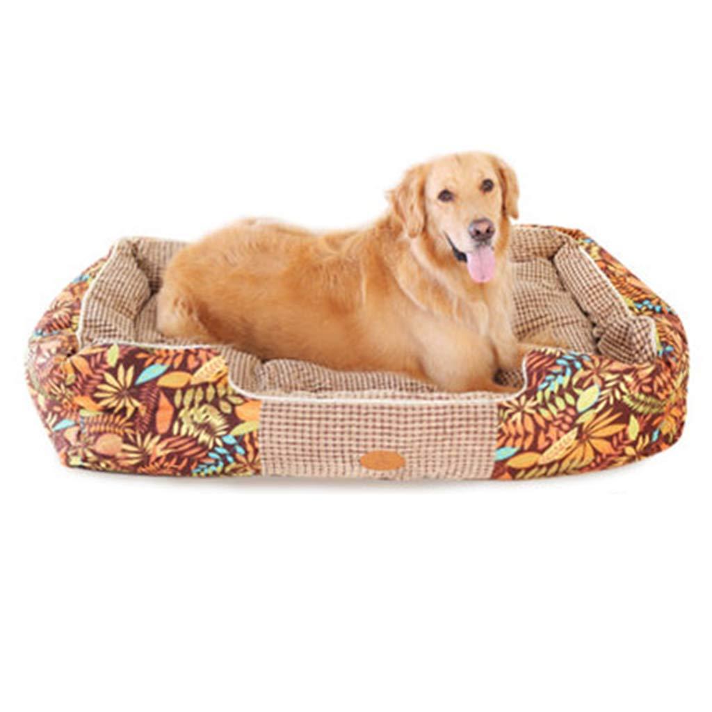 Cama perro Camas ortopédicas indestructibles de la Perrera del Perrito de la Cama Media del Perro para los Perros/los Gatos/el Animal doméstico Grandes ...
