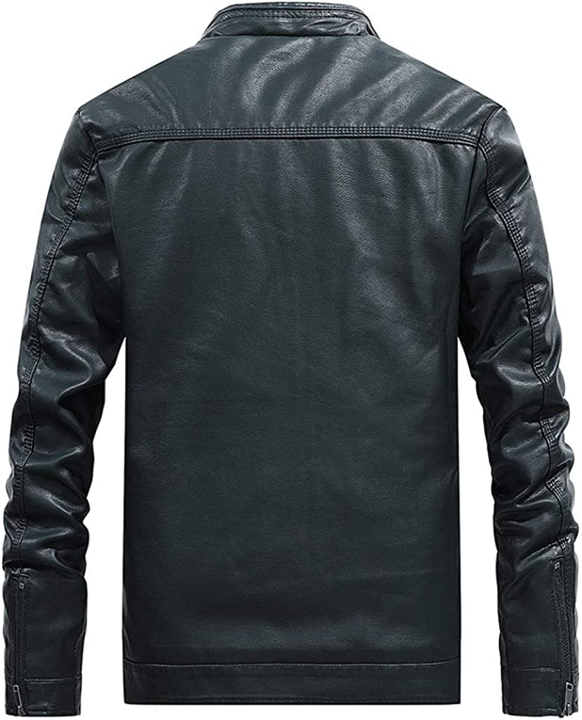 Black,38 Jacket for Men Slim Fit Forthery Mens Big and Tall Lightweight Work Wear Full Zip Jacket with Pockets