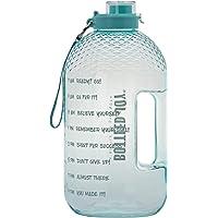 BOTTLED JOY 1 Gallon Water Bottle, BPA Free Large Water Bottle Hydration with Motivational Time Marker Reminder Leak…