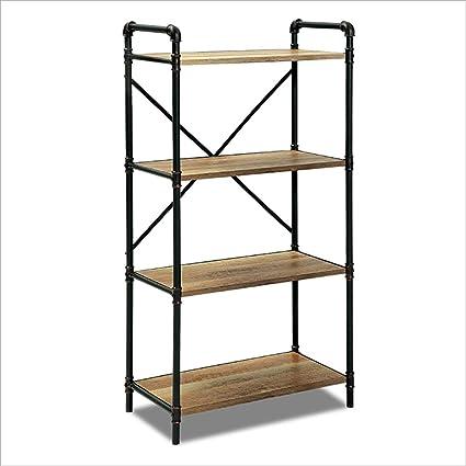 Book Jia librerie Scaffale per pavimenti retrò a più piani, scaffali ...