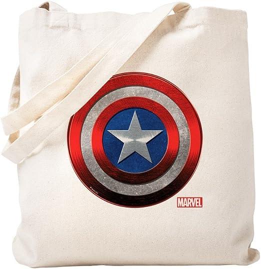 Superhero Shields Canvas Tote Bag