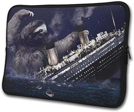 Cute Sea Otters Notebook Bags Zipper Laptop Bag 13 Inch Laptop Sleeve Case Bag Computer Bag