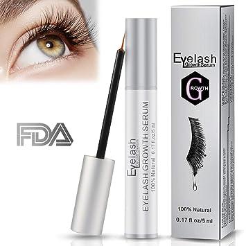 1bce6539684 Eyelash Growth Serum, Herwiss Natural Lash & Brow Enhancer Serum, Eye Lash  Booster Enhancing