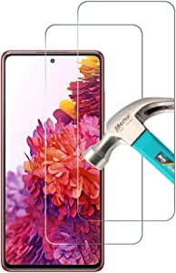 Hileny Screen Protector for Samsung Galaxy S20FE / Samsung A51 Tempered Glass, Easy Bubble-Free Installation, 99.99% HD Clarity Samsung A51 Tempered Glass Protector Phone(for Samsung S20 FE)
