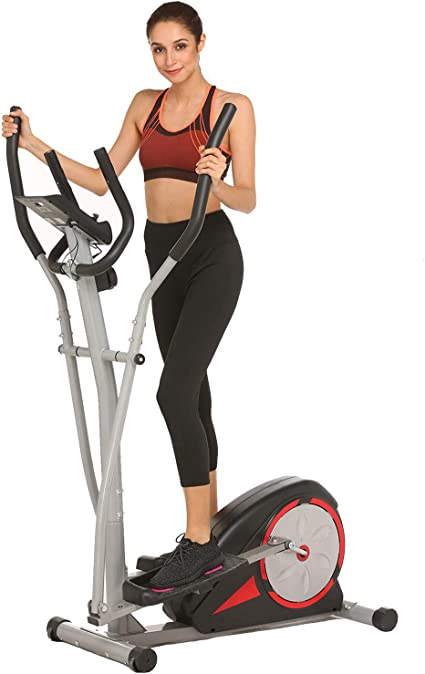Top Levels Elliptical Trainer ncient Elliptical Machine Eliptical Exercise Trainer Machine for Home Use Magnetic Smooth Quiet Driven