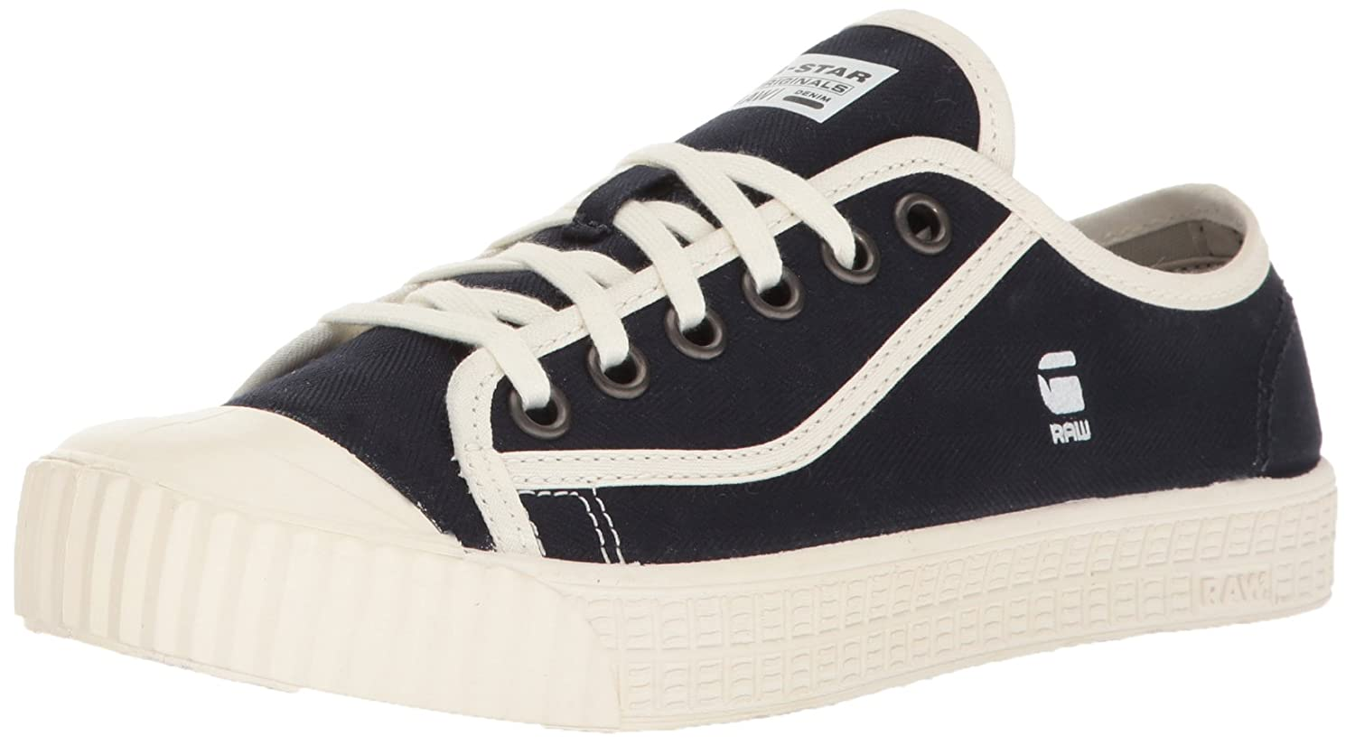 TALLA 42 EU. G-STAR RAW Rovulc Denim Low Sneakers, Zapatillas para Hombre
