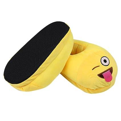 f92dffc6ea3c Amazon.com  Emoji Slippers