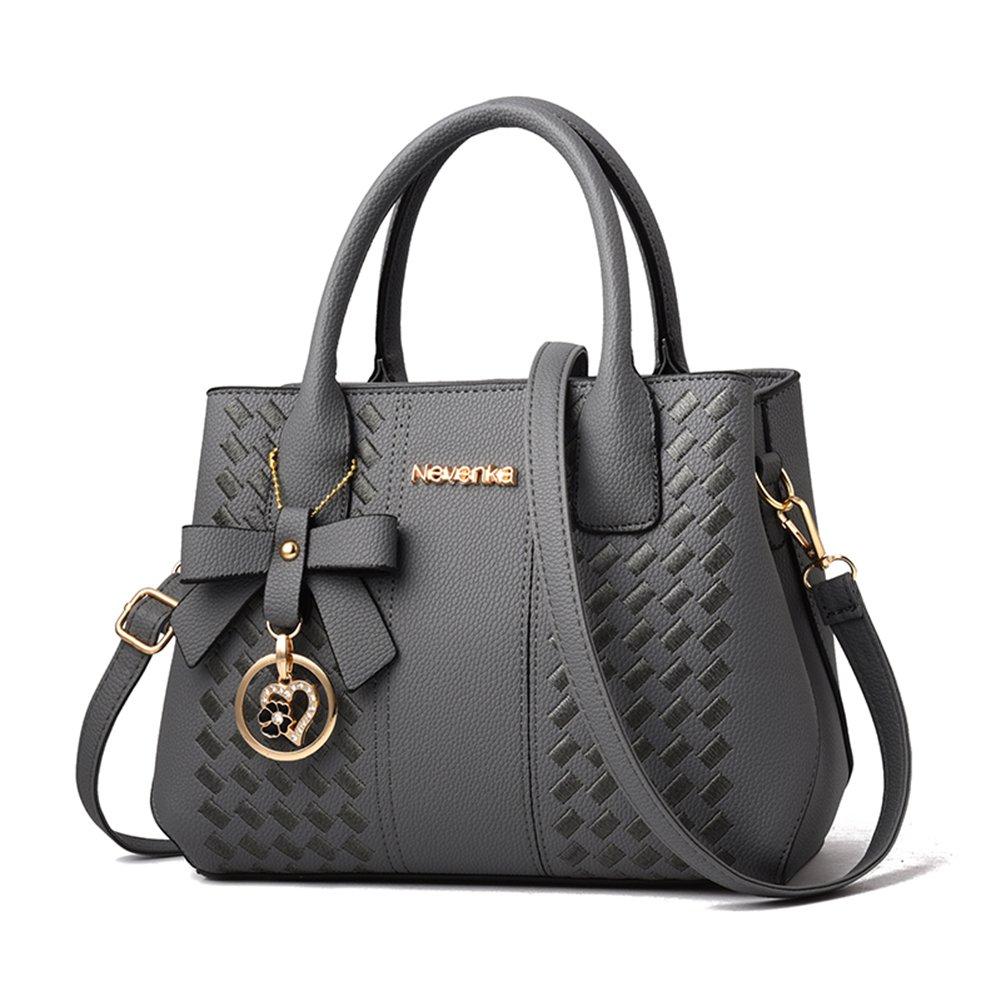 Handbags for Women Fashion Ladies Purses PU Leather Satchel Shoulder Tote Bags