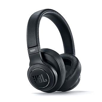 Fone de Ouvido Headphone Bluetooth Duet Nc Preto Noise Cancelling Jbl Jblduetbtncblk