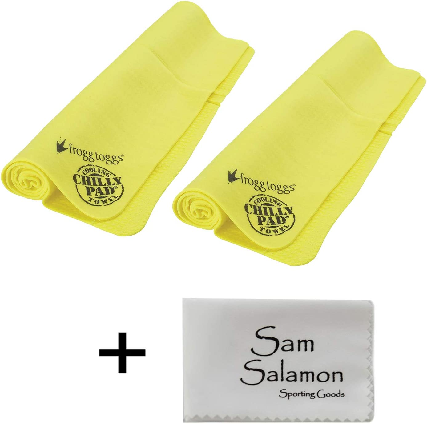 FROGG TOGGS Chilly Pad Cooling Towel (2 Pack) w/Micro Sam Salamon Cloth