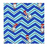 Dr. Seuss THE CAT IN THE HAT Celebration ADE-13979-203 Quilting Cotton Sewing Fabric By the Yard Robert Kaufman by Robert Kaufman Fabrics