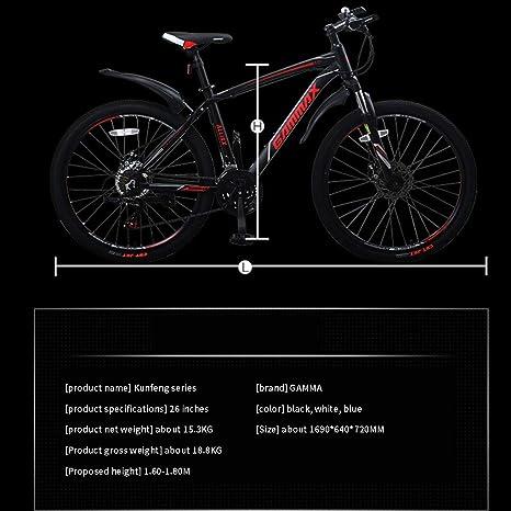 XiXia X Bicicleta de montaña Bicicleta Aleación de Aluminio ...