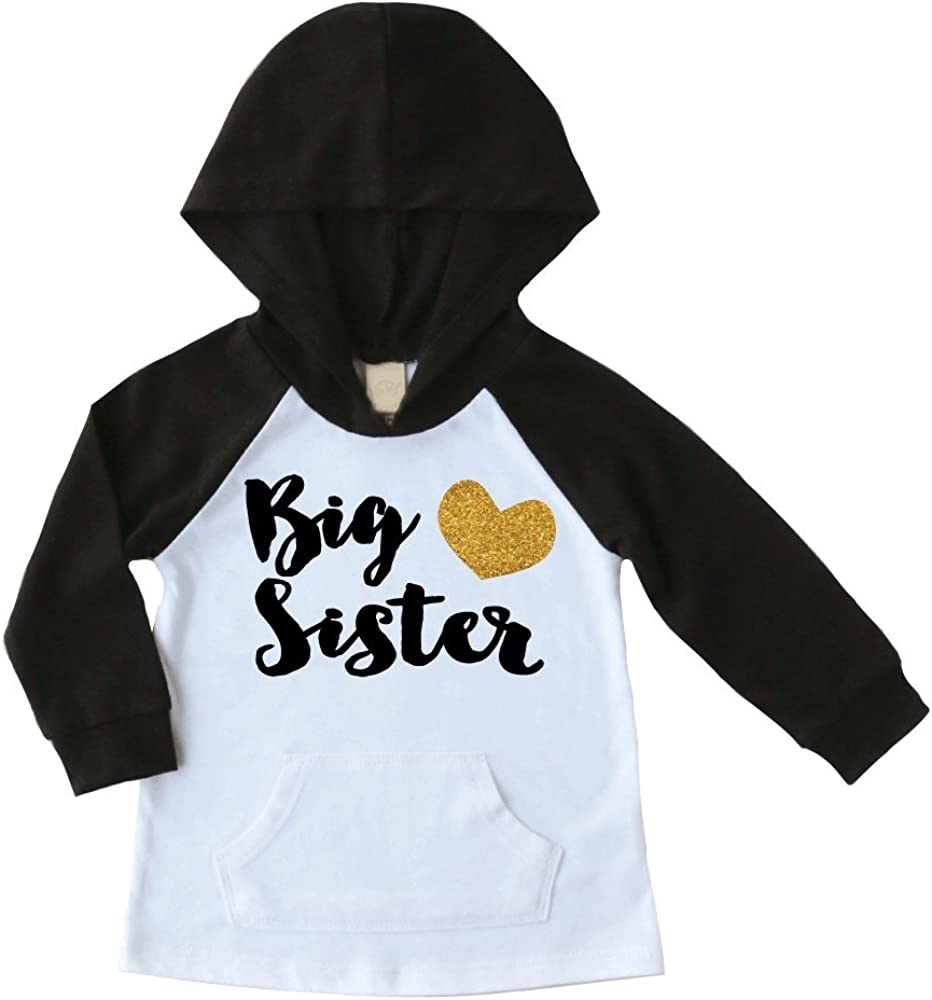 Bump and Beyond Designs Big Sister Shirt Pregnancy Announcement Big Sister Hoodie