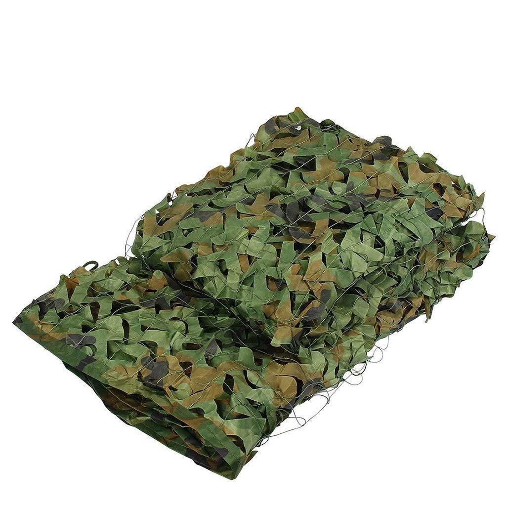 ATR Filet de Camouflage de l'armée, Filet de Renfort, adapté au masquage Militaire, aux véhicules de Prougeection et aux terrains de Chasse décoratifs (Multiplication de Camouflage dans la Jungle)  88M(26.226.2ft)
