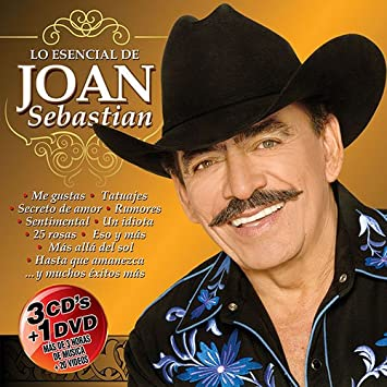 Joan Sebastian Lo Esencial 3CD+1DVD