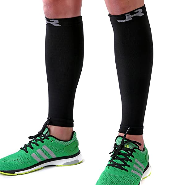 Pantorrillera de Compresión Sleeve – Ayuda a Espinillas. Hombres & Mujeres Pierna Calcetines para correr