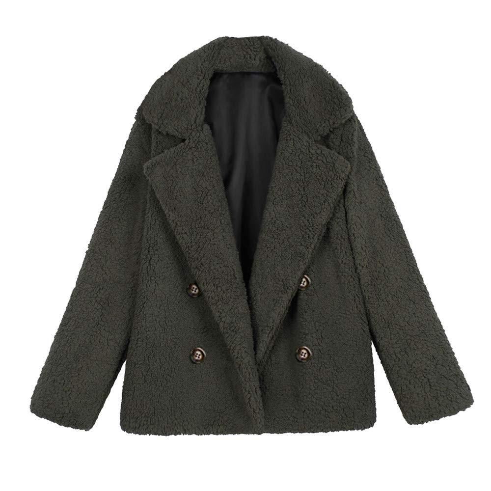 LEXUPE Women Casual Jacket Winter Warm Parka Outwear Ladies Coat Overcoat Outercoat