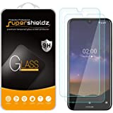 (2 Pack) Supershieldz for Nokia 2.2 Tempered Glass Screen Protector, Anti Scratch, Bubble Free