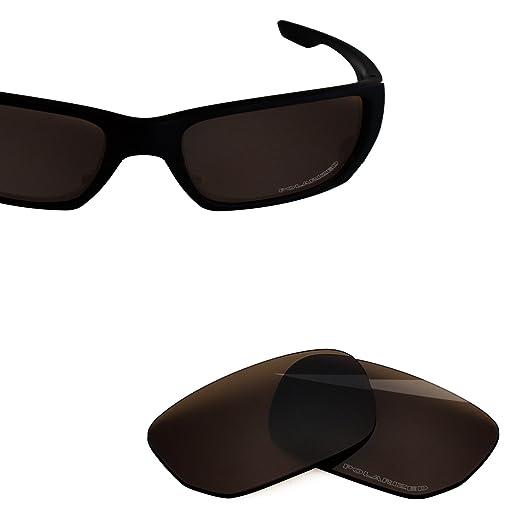 86ea0ca7d78 BlazerBuck Anti-salt Polarized Replacement Lenses for Oakley Style Switch -  Amber