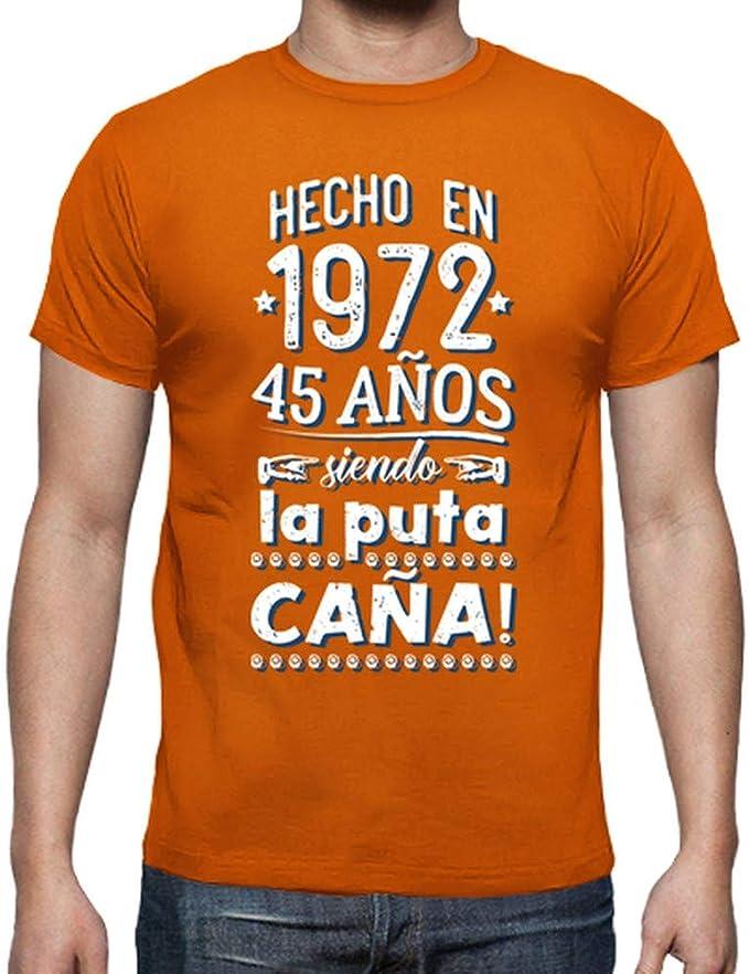 latostadora - Camiseta 45 Aos Siendo la Puta para Hombre: hello: Amazon.es: Ropa y accesorios