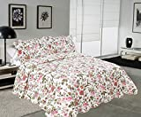 Is There a Bed Bigger Than a King Floral Pattern 3-Piece Quilt Set King 102'' by 94'' Hypoallergenic and Super Soft Multi Color - Pattern#10