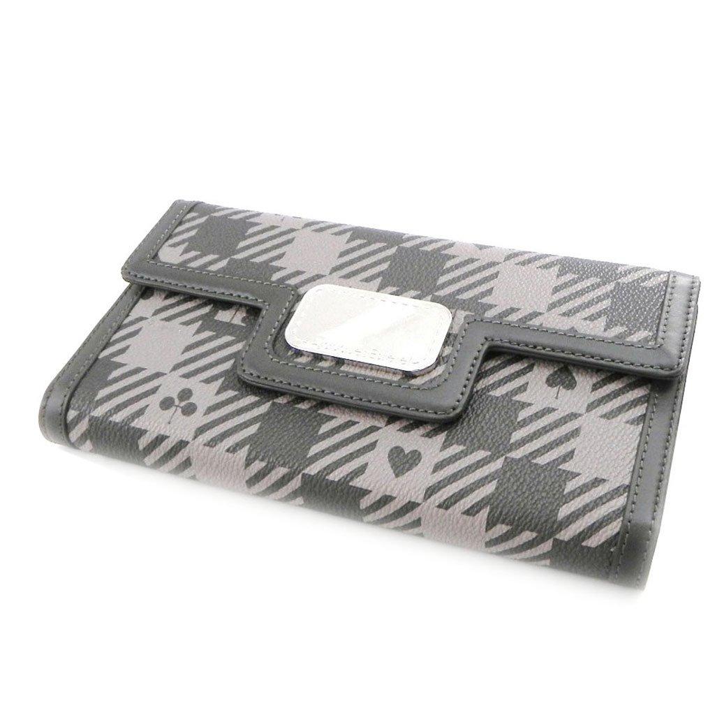 Wallet + checkbook holder 'Jacques Esterel' dark grey.