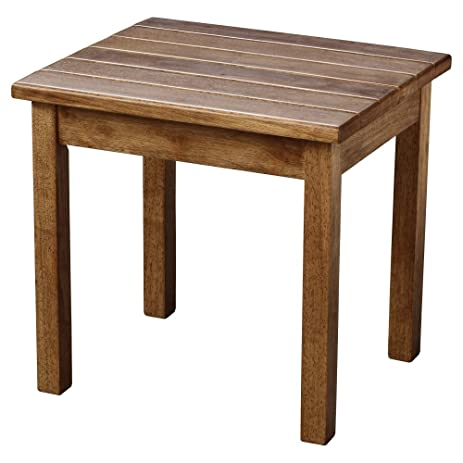 Hinkle Chair Company Stained Plantation Porch Side Table, Maple