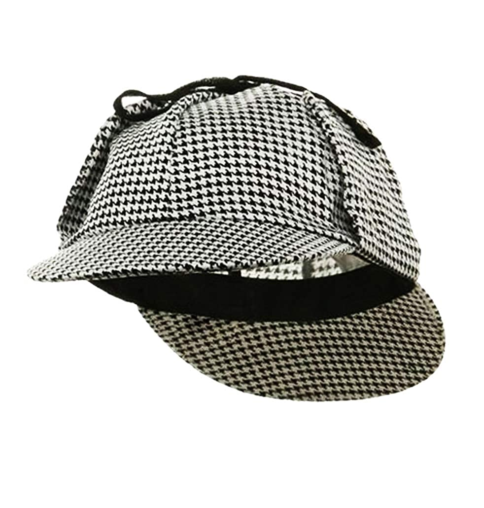 d2d11bac166 Amazon.com  Sherlock Holmes Detective Cap Hat - Funny Party Hats ...
