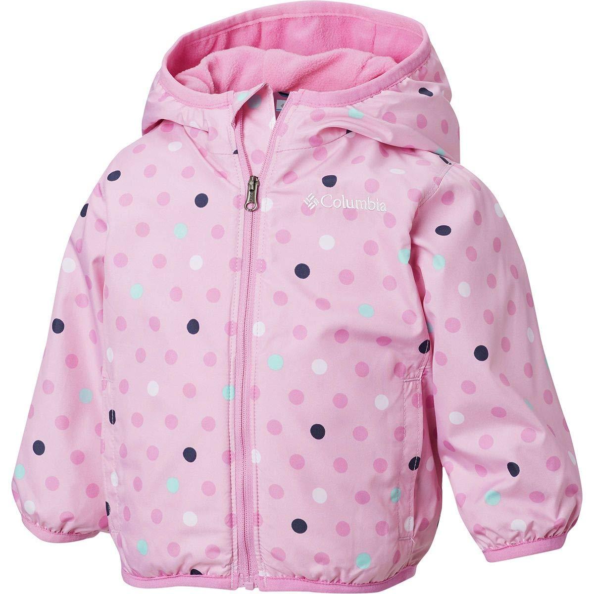 Columbia Kids Baby Girls Mini Pixel Grabber/¿ II Wind Jacket Infant//Toddler Pink Clover Polkadot 3T