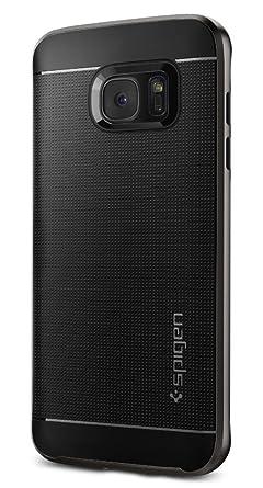 Spigen Neo Hybrid Back Cover Case Designed for Samsung Galaxy S7 Edge   Gunmetal Cases   Covers