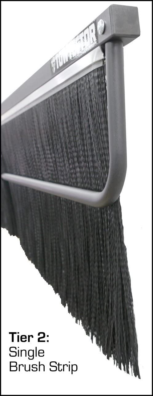"""Towtector 27820-T1 Tier 1 Light Duty 78/"""" Single Rubber MudFlap for 2/"""" Receivers"""