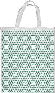 حقيبة تسوق مزينة بالخرز، مقاس متوسط