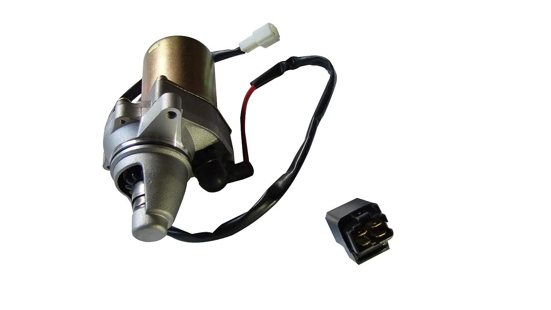 shamofeng Starter and Relay Solenoid fits SUZUKI LT80 QuadSport 80 2x4 1987-2006