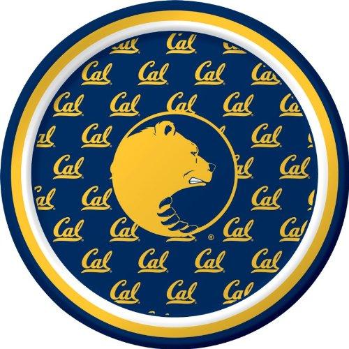 Creative Converting UC Berkeley Golden Bears Dessert Paper Plates, 8-Count -