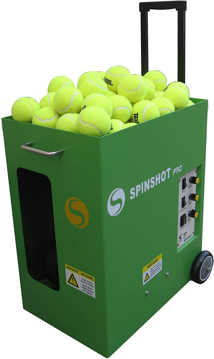 Spinshot Pro Tennis Ball Machine (The Best Model for Easy Use) : Sports & Outdoors