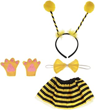 Gazechimp Vestido de Abeja para Niños Disfraz de Animal Vestuario ...