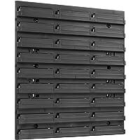 Opslagsysteem wandrek stapelboxen opbergkasten | extra sterke wandplaten | rek uitbreidbaar | werkplaatsrek opbergrek…