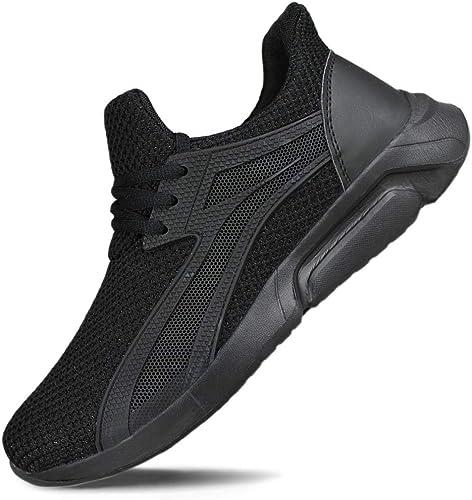 Hawkwell Women's Light Weight Sport Knit Workout Walking Sneakers Tennis Shoes