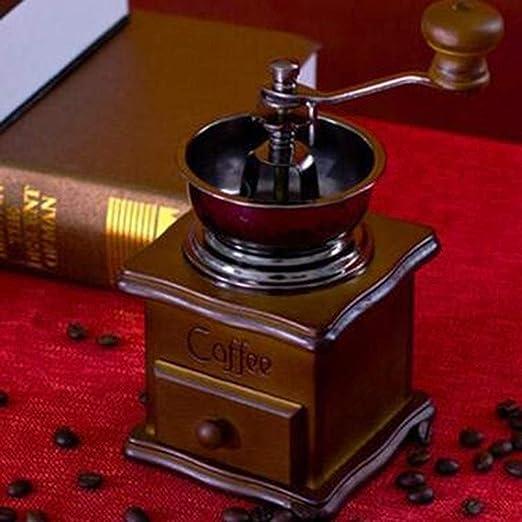 LISHUAISHUAI Molinillo De Café Manual, Cafetera De Batido Manual ...