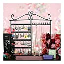 Classic Black Jewelry Hanger Stand for Earrings / Necklaces / Bracelets