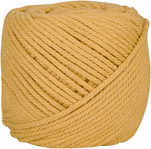 BENECREAT 100m Cuerda Cordel de Algodón Natural 100% Puro Cordón ...