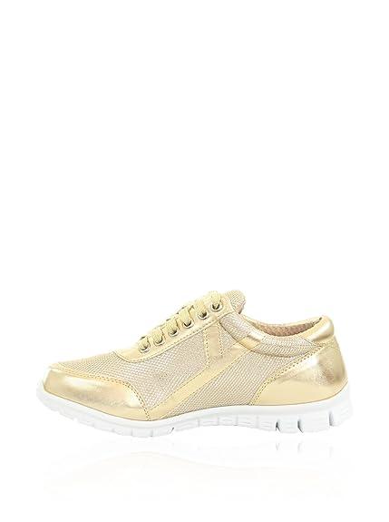 best cheap d413f 7b412 C'M Damen Sneakers goldfarben 40 EU: Amazon.de: Schuhe ...