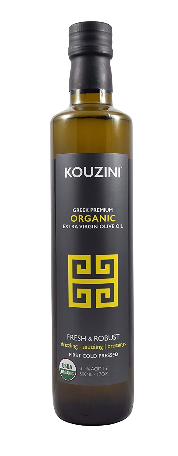 Kouzini - Organic - Greek Extra Virgin Olive Oil   First Cold Pressed   NYIOOC award Winner   Current Harvest 2020/2021   Single Origin   Family Owned