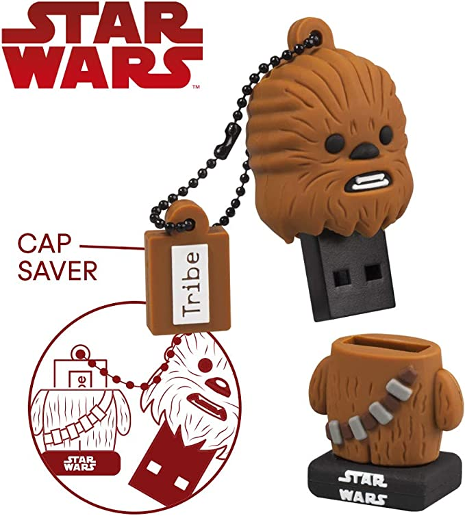 Llave USB 32 GB Chewbacca - Memoria Flash Drive 2.0 Original Star ...