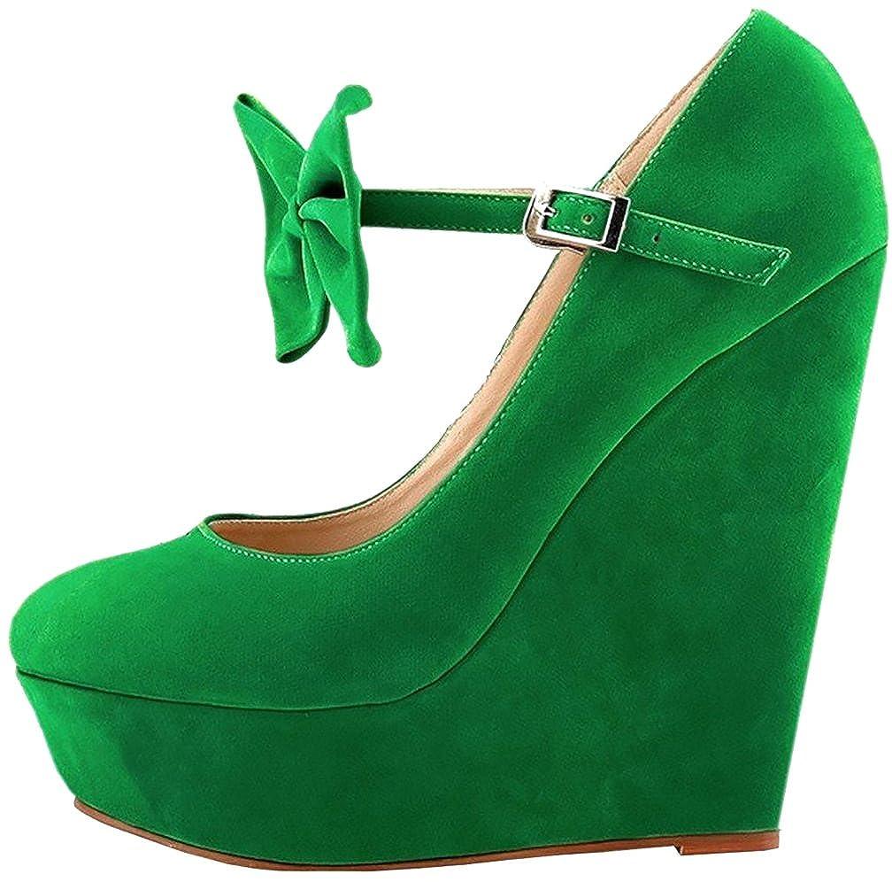 Calaier  Caeverything, Damen Pumps, - grün - grün - Pumps, Größe: EU 34 - 757e70