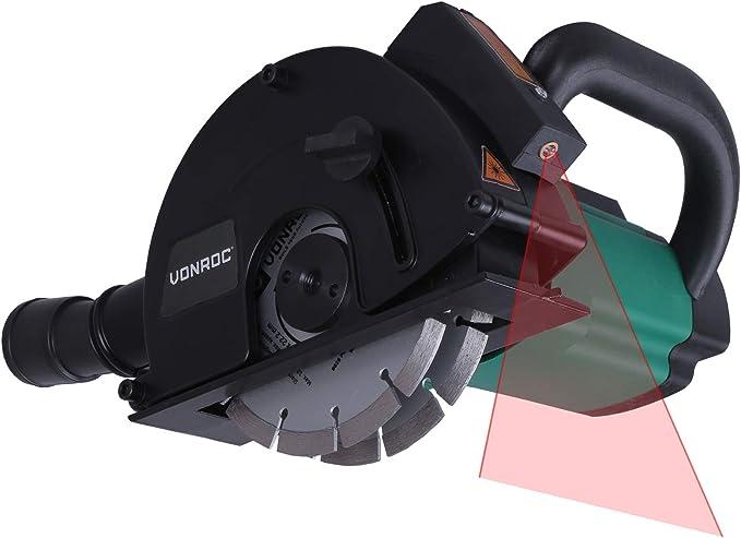 VONROC Rozadora de paredes con láser VONROC - 1700W - 150mm ...