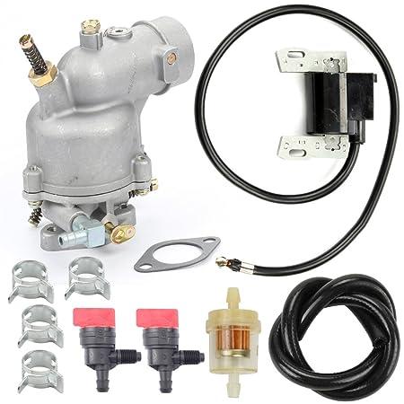 Amazon.com: harbot 390323 carburador + Bobina de encendido ...