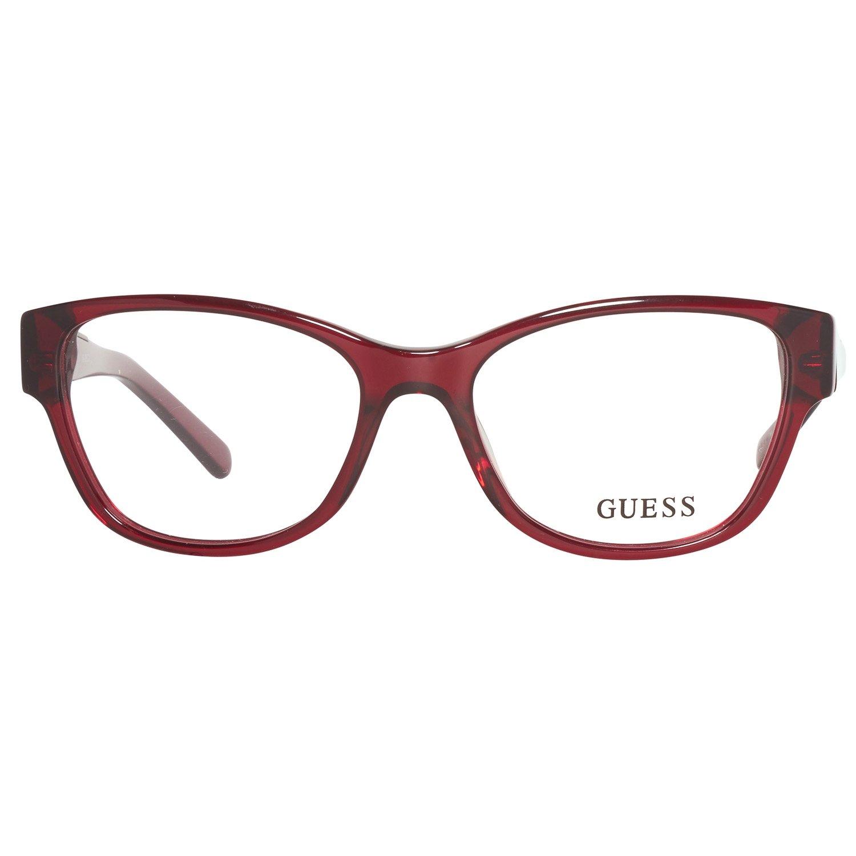 Amazon.com: Guess anteojos GU 2383 Muela acetato Borgoña ...